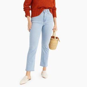 J. Crew Curvy Billie Demi Boot Jeans Size 27